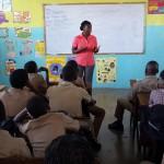 Yanique Taylor from junior Achievement